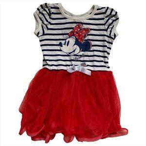 Minnie Mouse Dress Nautical Tulle Skirt Disney